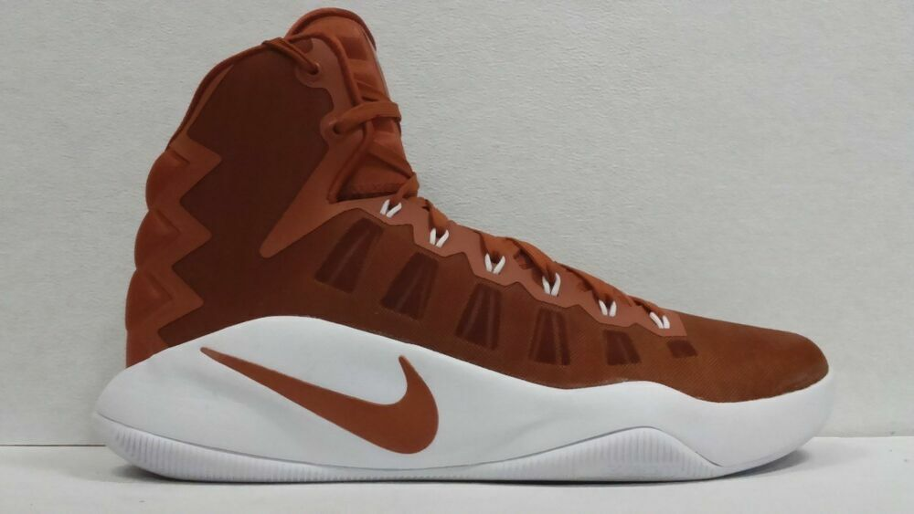 Size 18 Nike Men Hyperdunk 2016 shoes 856483 882 Brown White