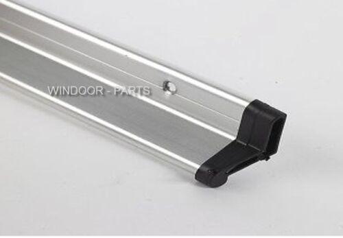 DOOR DRIP BAR RAIN DEFLECTOR FOR UPVC COMPOSITE WOOD DOORS SILVER WEATHER BAR