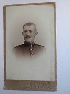 Landsberg-a-Lech-Soldat-in-Uniform-CDV