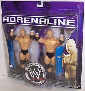 "06 Jakk's Adrenaline Series 21 ""Jake"" & ""Jesse"" Action Figure Set WWF WWE [1481}"