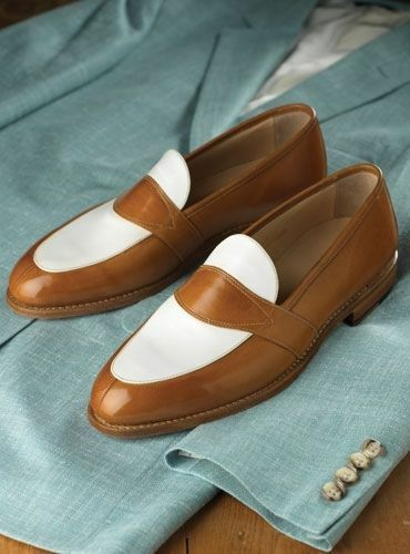 Hombre HANDMADE Marrón AND REAL Blanco SLIP ONS Zapatos REAL AND QUALITY LEATHER Zapatos FOR Hombre 483a57