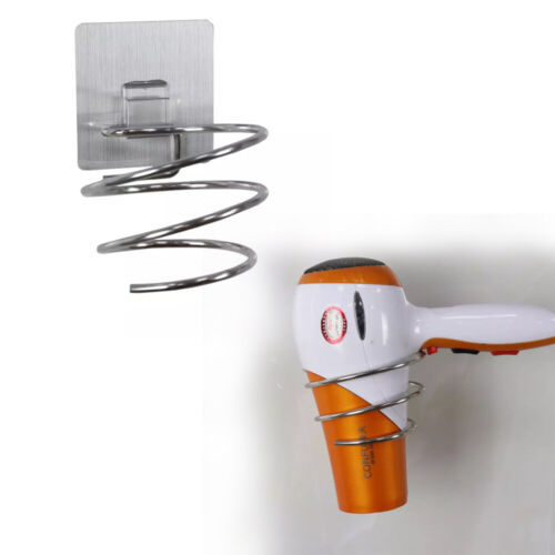 Hakenleiste Fönhalter Haartrocknerhalter Wasserfest Selbstklebend ohne Bohren DE