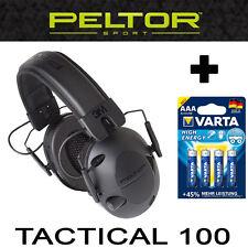 TACTICAL100 Original PELTOR U.S.A. AKTIVER taktischer elektronischer Gehörschutz