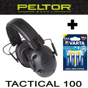 TACTICAL100-Original-PELTOR-U-S-A-AKTIVER-taktischer-elektronischer-Gehoerschutz