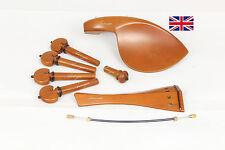 Finest Quality Boxwood Violin Fittings Set