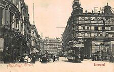 Liverpool,U.K.Ranelagh Street,Trolley Car,Merseyside,c.1909