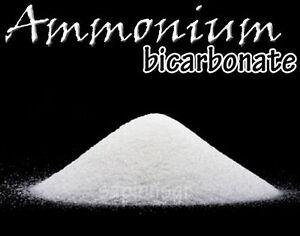 AMMONIUM-BICARBONATE-PURE-AMMONIA-190g-6-7oz-FOOD-GRADE-USE-FREE-SHIPPING