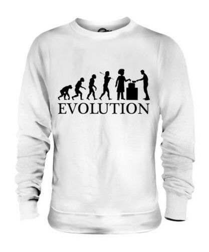 SOUP KITCHEN EVOLUTION OF MAN UNISEX SWEATER MENS WOMENS LADIES GIFT HOMELESS