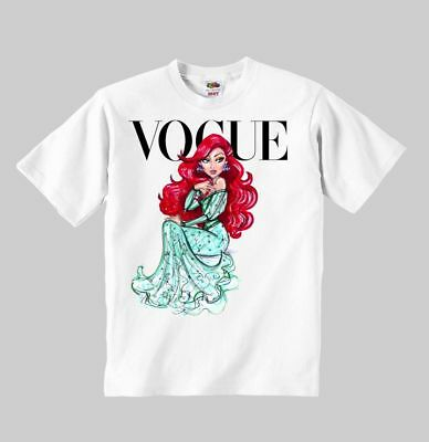 Belle Princess Vogue Personalized NAME t-shirt clothing kid toddler children