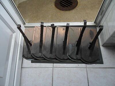 Kenntnisreich Biberschneefangstütze Kupfer 25cm Hoch Und 5cm Stuhl Ziegel & Pfannen Heimwerker