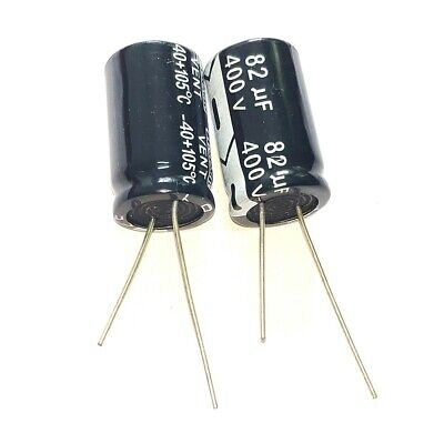 5PCS 250V 100uF 250Volt 100MFD Electrolytic Capacitor 16×25 NEW