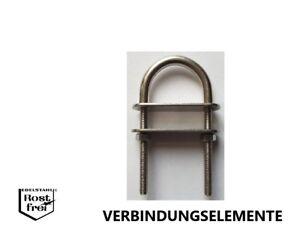 10 stk Sicherungsringe Sprengringe Seegering Außen-Seegerring Edelstahl 35mm Dia