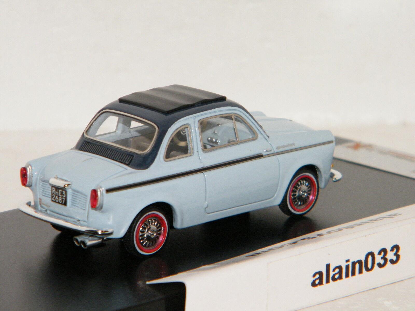NSU - FIAT FIAT FIAT Weinsberg 500 Light bleu 1960 PremiumX 1 43 Ref 0020 77f046