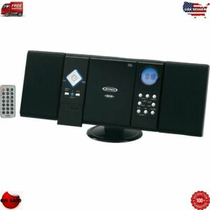 WALL MOUNT MICRO HOME STEREO SYSTEM AM/FM RADIO CD PLAYER w/ REMOTE NEW