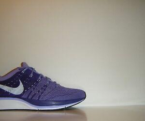 OG Nike Flyknit Trainer Purple White Sz. 6.5 (Womens 8) Olympic ... f31525cd8