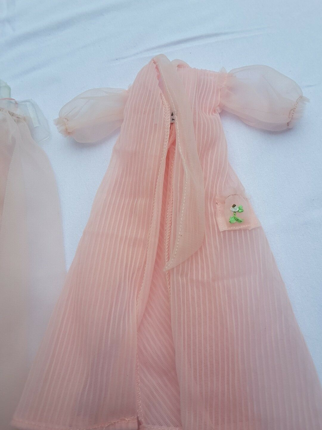 Doll Barbie vintage nighty    negligee set  965 de 1959 1f7d88