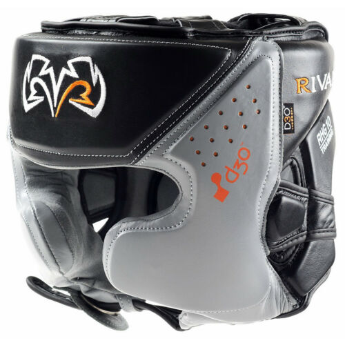 Rival Boxing RHG10 Intelli-Shock d30 Headgear Black//Gray