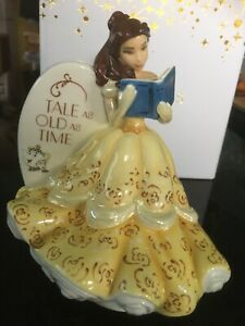 BNIB-English-Ladies-Co-Disney-Princess-Flatback-Figurine-Belle