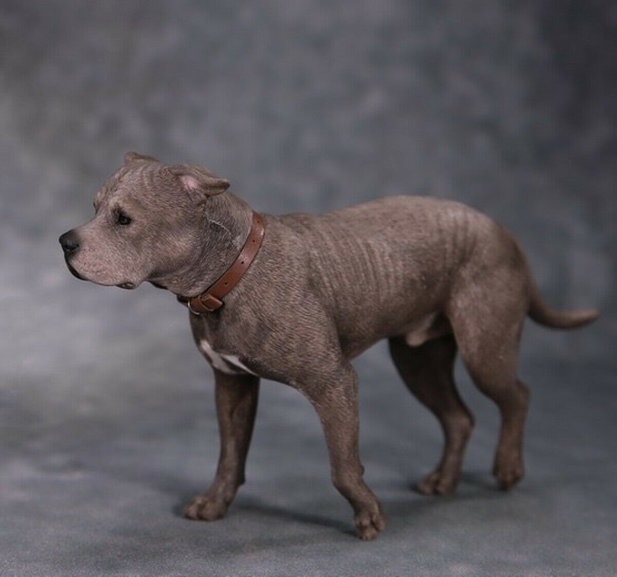 Mr.Z 1 6 American Staffordshire Terrier Dog Pet Figure Animal Decor Model Toys