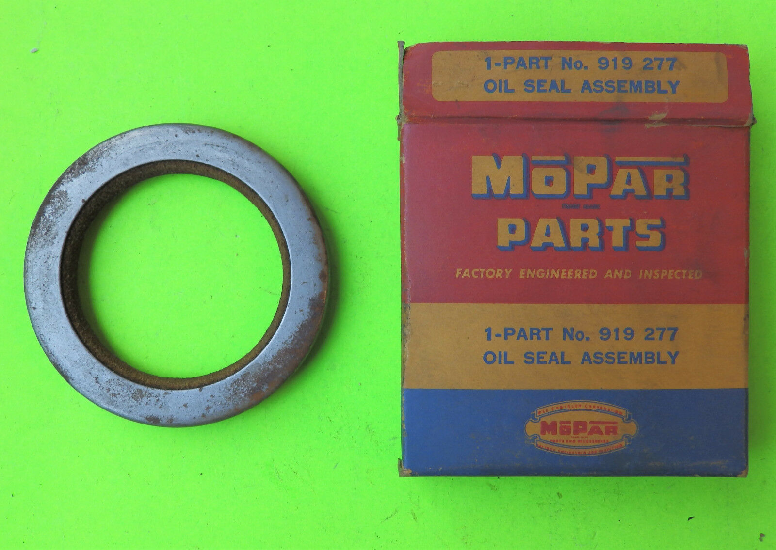 Front Wheel Seal Mopar Nos 919277 1939 56 Dodge Chrysler Plymouth Ebay Vintage Wiring Harness Norton Secured Powered By Verisign