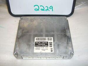2000 LEXUS RX300 89661-48081 COMPUTER BRAIN ENGINE CONTROL ECU ECM MODULE
