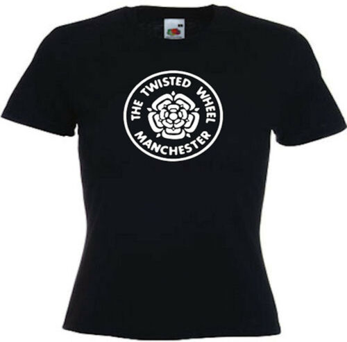 Manchester Twisted Wheel Northern Soul Soul Ladies Fitted Tees