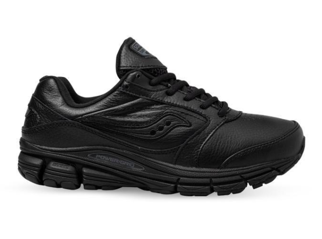 Saucony Mens OMNI WALKER 2 Running Size US 10 UK 9 NIB Black S-40023-2 RRP $220