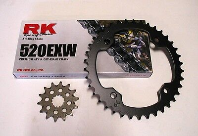 RK Chain and JT Sprocket Kit Kawasaki KFX 450R 2008-2014