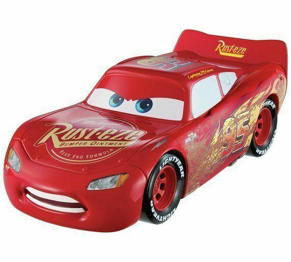 Disney FCV95 Pixar Cars 3 in 1 Change and Racing Lightning McQueen Play Kids Toy