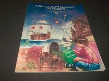 103rd Tournament of Roses Souvnier Program Voyage of Discovery 1992 Rose Bowl