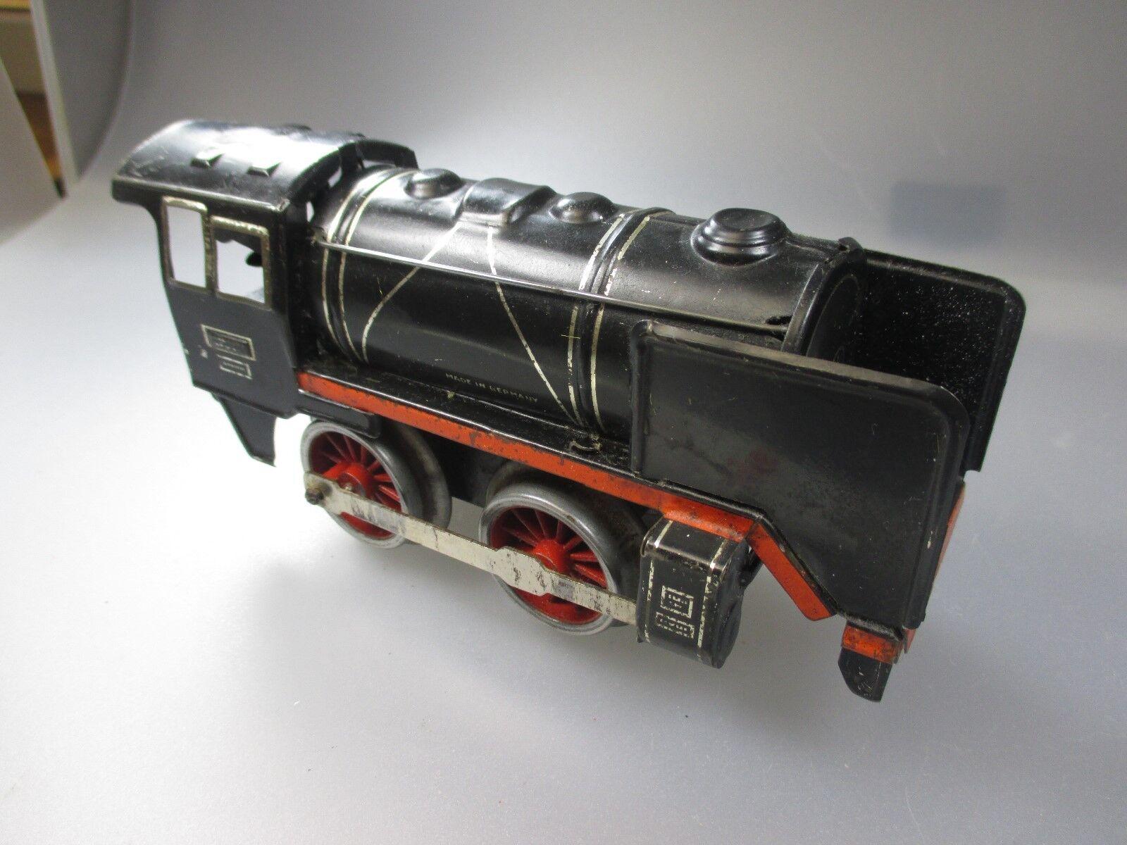 Spur 0  Blech- Dampf- Lok ( Stiege 14)
