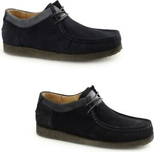 Hush Puppies Davenport Low Men Modern Everyday Wear Cushioned Insole Suede Shoes Ebay