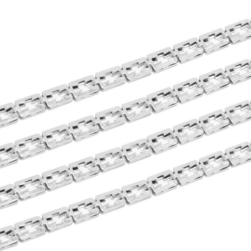 3meters Stainless Steel Hollow Cross Square Chains Handmade DIY Jewelry Findings