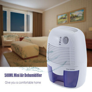 Image Is Loading Mini Air Dehumidifier Moisture Absorber 500ML Water Tank