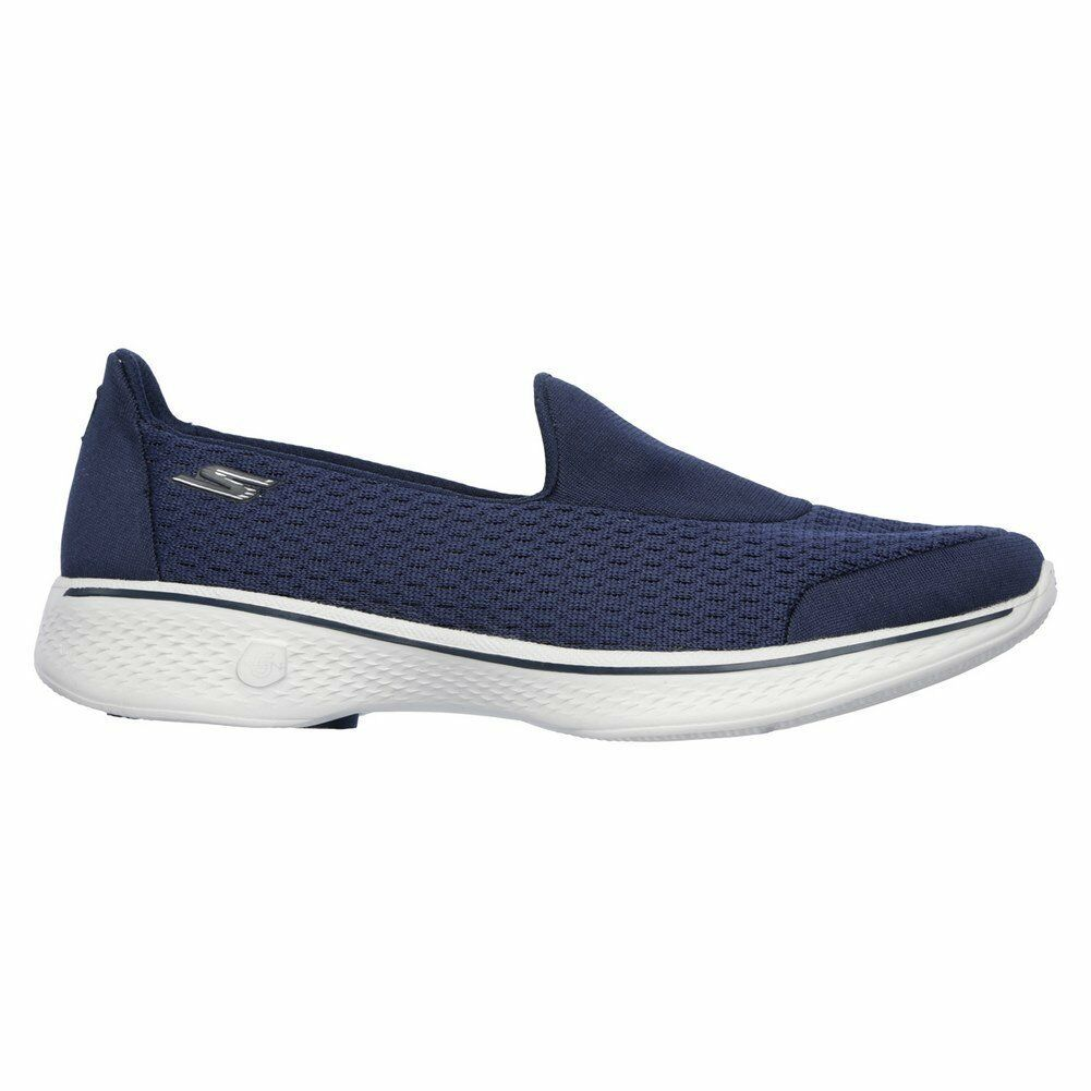 Skechers shoes – Go Walk 4-Pursuit bluee grey