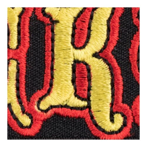 Lucky Red /& Yellow Patch Sayings Patches