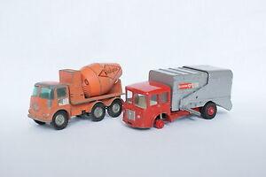 Matchbox-Lesney-1-55-Lot-de-2-Camions-Toupie-et-Poubelle