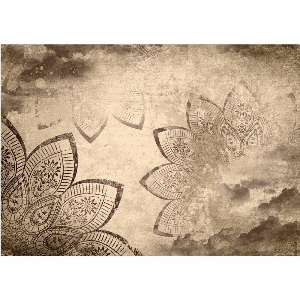Fototapete Mandala Illustration blueme liwwing no. 1740