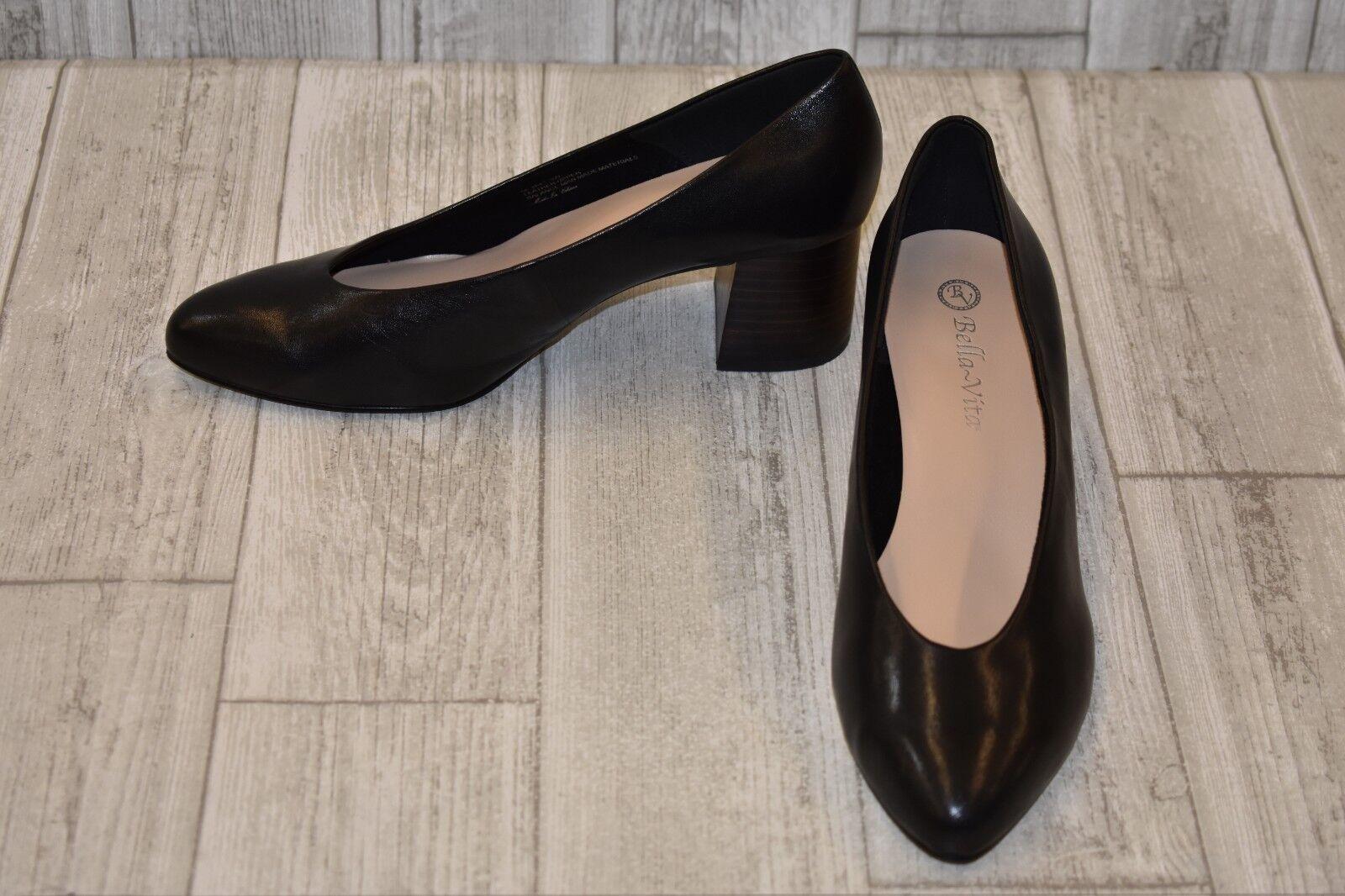 Bella Vita Jensen Pumps- Women's Size 9 W, Black