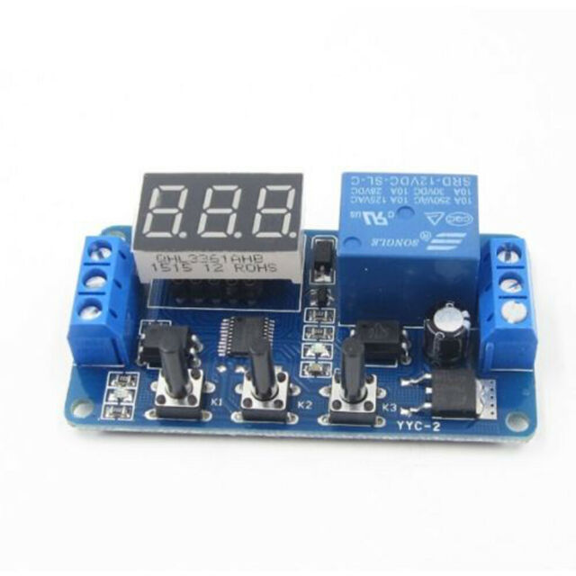 12v Led Automation Delay Timer Control Switch Relay Module