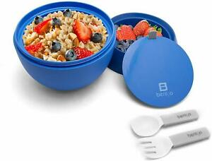Bentgo-Insulated-BPA-Free-Leakproof-Lunch-Container-w-Collapsible-Utensils-Set