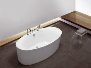 Vasca Da Bagno Freestanding In Acrilico : Esclusiva freestanding acrilico vasca da bagno con ab und