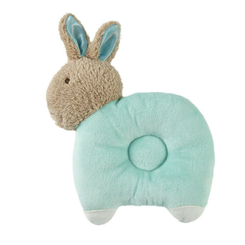 Newborn Cartoon Breathable Baby Anti-head Shape Pillow For 0-3 Years Old Baby