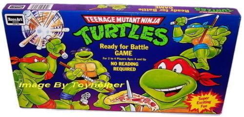 Teenage Mutant Ninja Turtles Ready for Battle Board Game Sealed NIB
