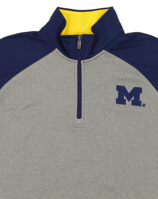 "Auburn Tigers NCAA /""Helix/"" Men/'s 1//4 Zip Pullover Jacket"