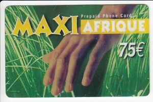 FRANCE-TELECARTE-PHONECARD-PREPAYEE-7-50-MAXI-AFRIQUE-SAVANE-12-07-N
