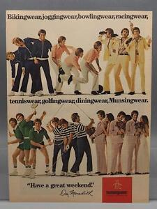 Vintage-Publicite-de-magazine-Imprime-Publicite-DUPONT-Munsingwear