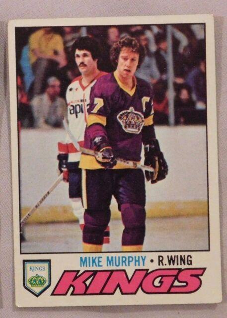 1977 Topps Mike Murphy Kings #22 Hockey Card ex-mt