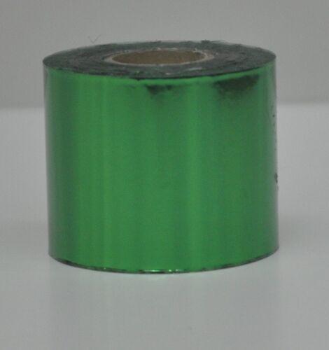 120 metros 9 Colores 50 mm de ancho Hot Foil para grabación en relieve//estampado//bloqueo