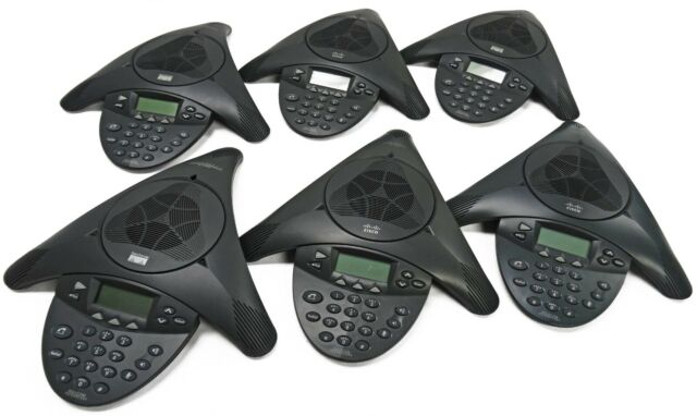 Lot Of (6) Polycom Cisco 7936 IP Conference Station CP